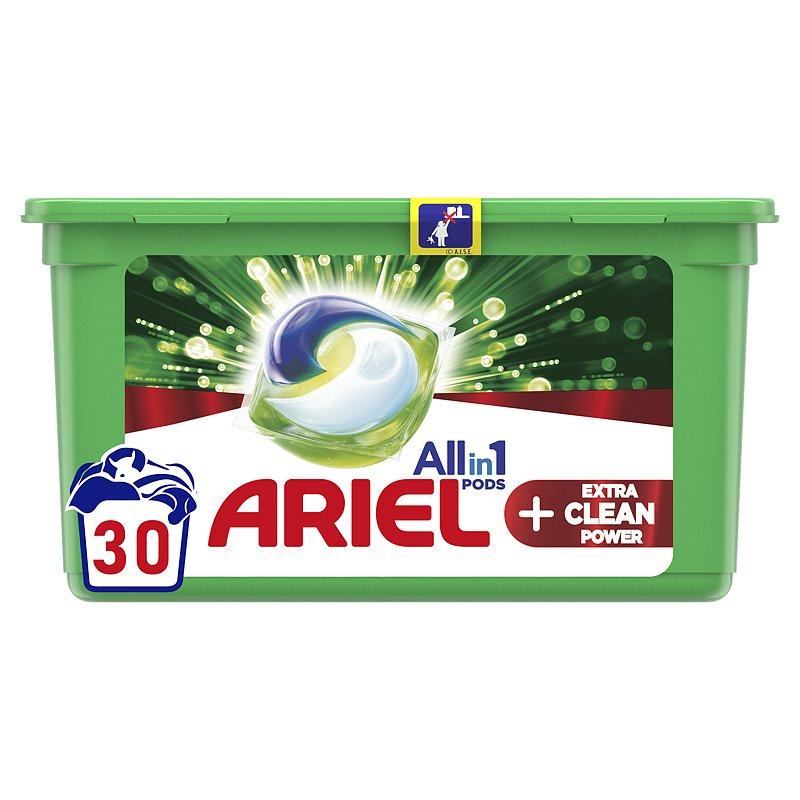 ARIEL Extra Clean kapsle na praní 30 ks