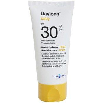 Daylong Baby minerální ochranný krém pro citlivou pokožku SPF 30 voděodolný  50 ml