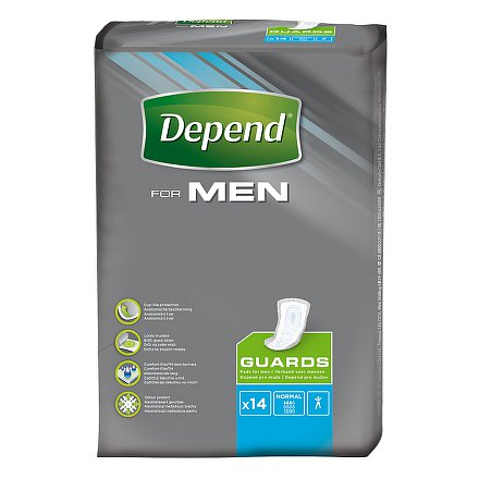 Depend vložky for man 2 14ks
