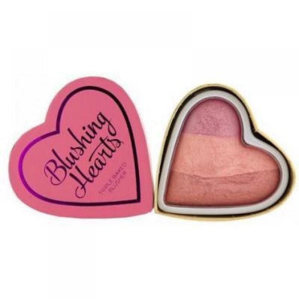 Makeup Revolution I Love make-up tvářenka Peachy Keen Heart 10 g