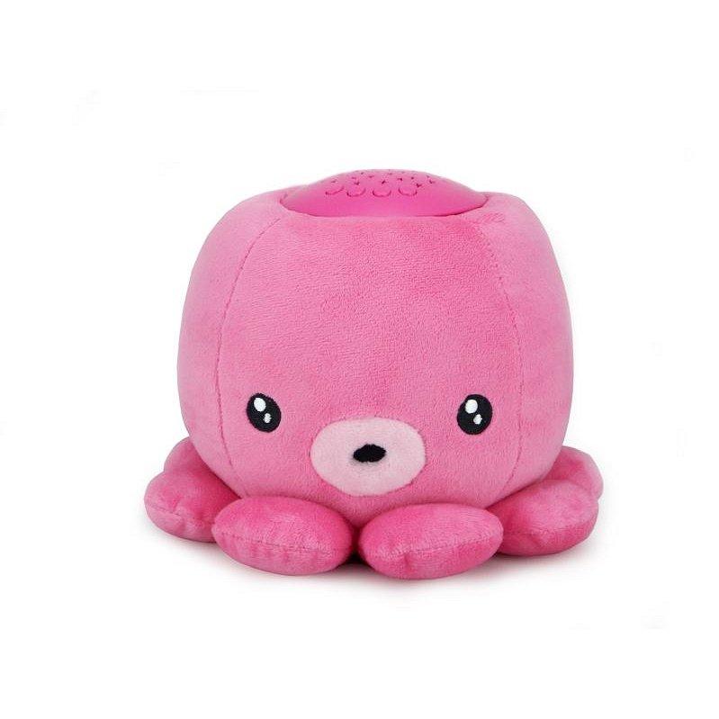 NIGHT PARTNERS lampička chobotnice růžová