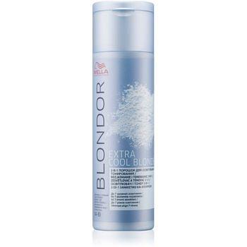 Wella Professionals Blondor zesvětlující pudr pro blond vlasy (Extra Cool Blonde) 150 g