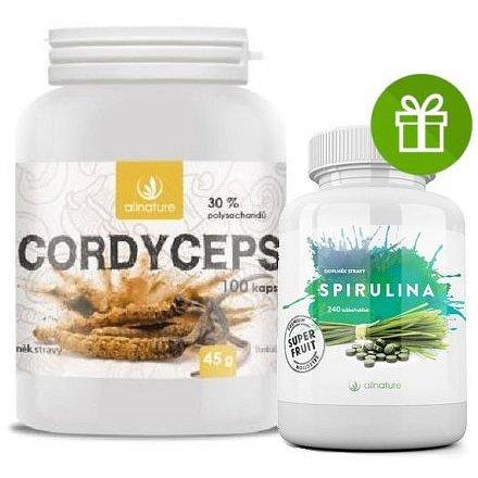 Allnature Cordyceps kapsle 100 cps