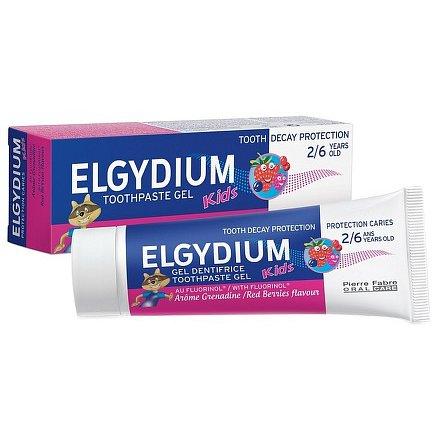ELGYDIUM KIDS gelová zub. pasta s fluorinolem 2-6 let 50ml lesní ovoce