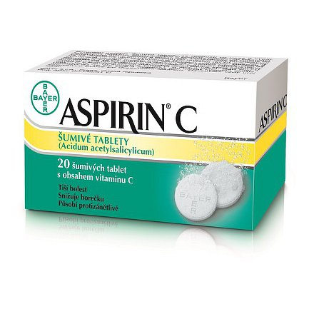 Aspirin C por.tbl.eff. (20 šumivých tablet)