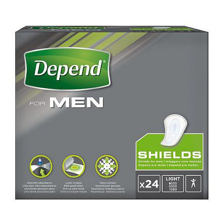 Depend vložky for men 1 24ks