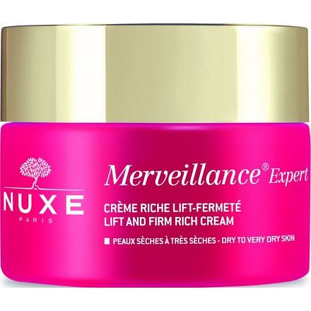 Nuxe Merveillence Expert Výživný korektivní krém proti viditelným vráskám, suchá pleť 50ml