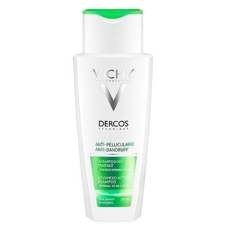 Vichy Dercos Šampon proti lupům normální až mastné vlasy 200ml