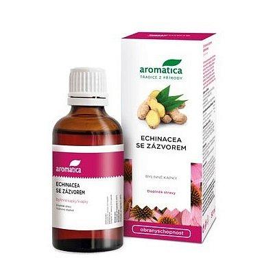 AROMATICA Echinacea se zázvorem bylinné kapky 50ml