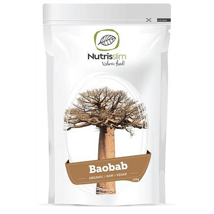 Baobab Fruit Powder 125g Bio