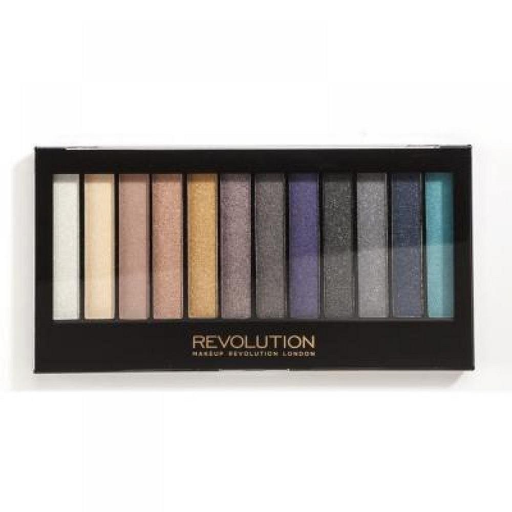 Makeup Revolution Redemption Palette Essential Day to Night paletka očních stínů 14 g