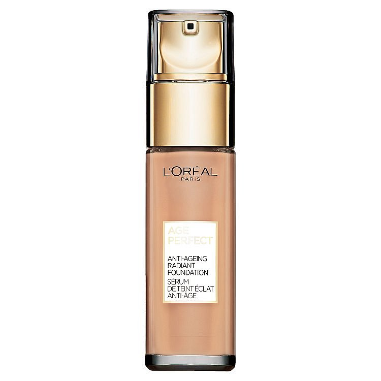 L'Oréal Paris Age Perfect 310 Rose Honey omlazující a rozjasňující make-up  30 ml