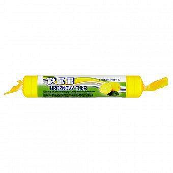 PEZ hroznový cukr s vitamín C citrónový