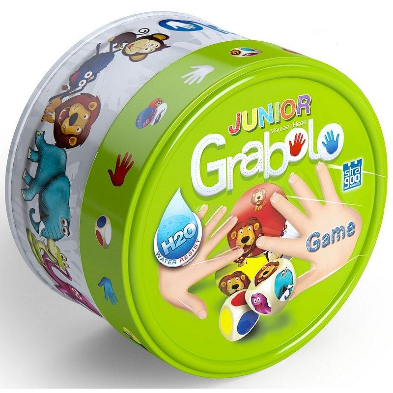 BONAPARTE Grabolo junior společenská hra v plechové krabičce 9 x 9 x 5 cm 8 ks v bo x u STRAGOO