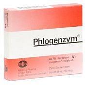 Phlogenzym Magensaftresistente tablety potažené 40