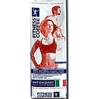 FITNESS COFFEE antiox.fully active blend mletá 250g