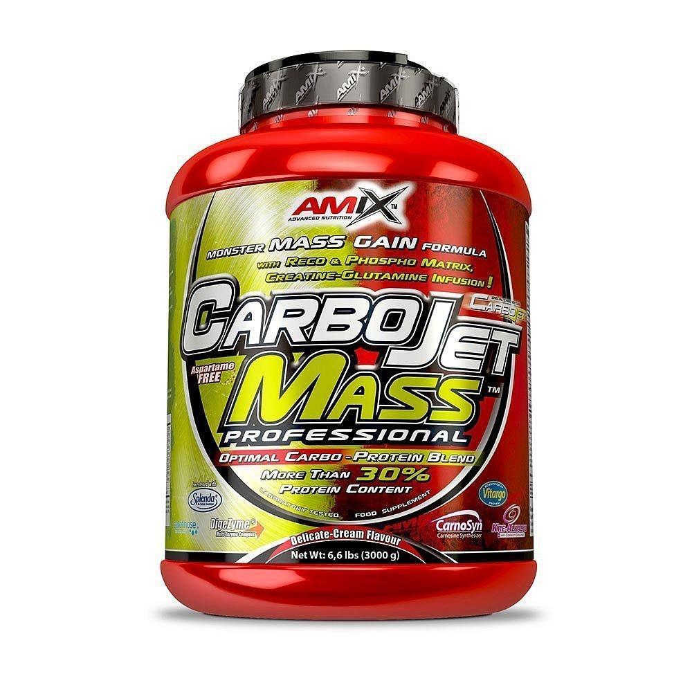 Amix CarboJet Mass Pro 30, Vanilla, 3000g