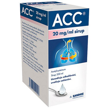 ACC 20mg/ml sir. 200ml