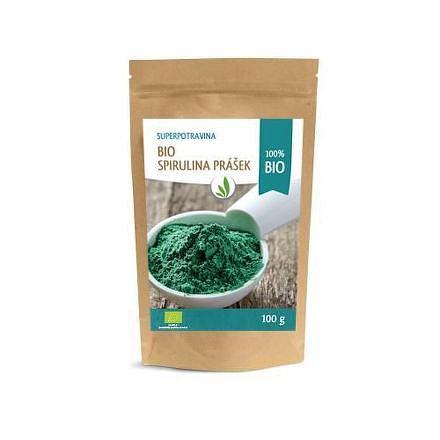 Allnature Spirulina prášek BIO 100 g