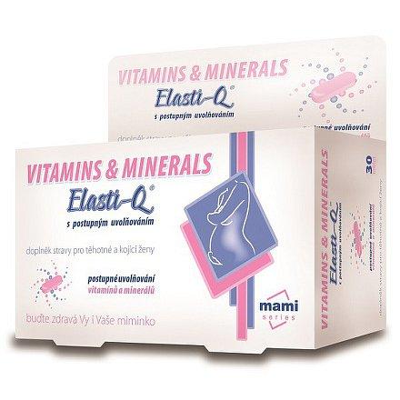 Elasti-Q Vitamins & Minerals s postupným uvolňováním tbl.30
