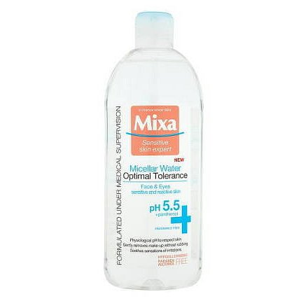 Mixa micelární voda pro zklidnění pleti 400ml