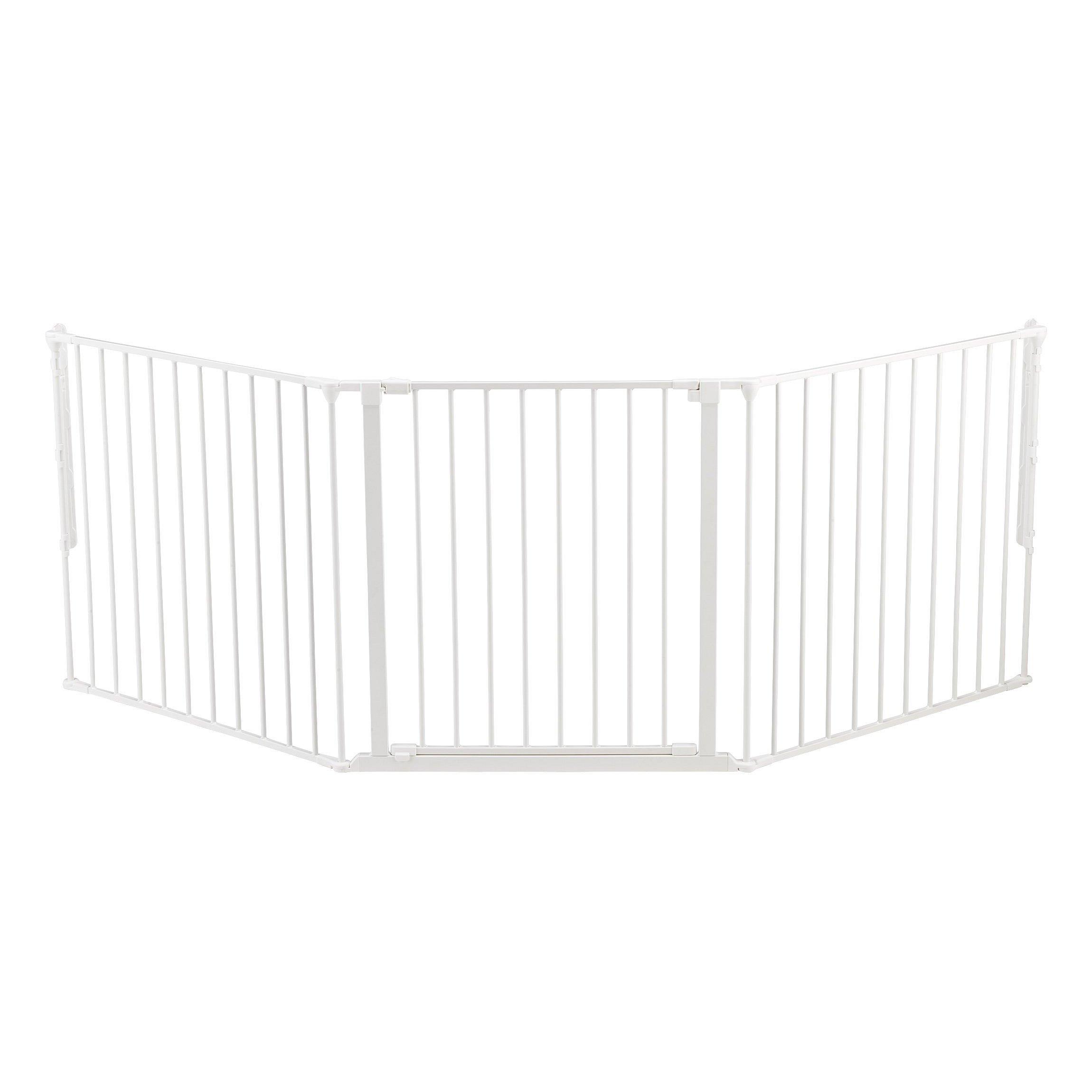 BABYDAN Prostorová zábrana New Flex L 90-225 cm, bílá