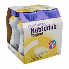 Nutridrink Yoghurt vanil+citr.por.sol.4x200ml Nový
