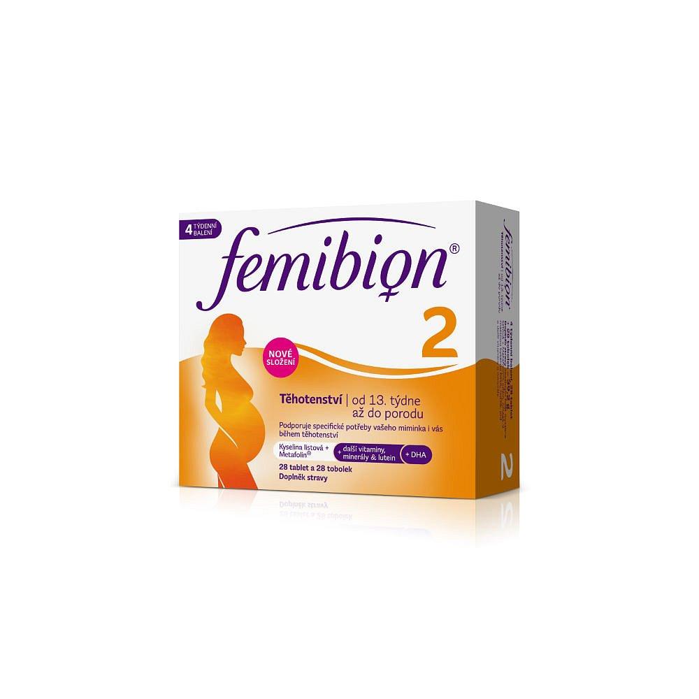 FEMIBION 2 Těhotenství 28ks + 28ks