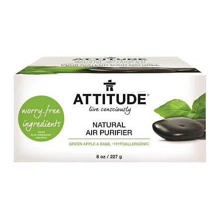 Přírodní čistící osvěžovač vzduchu ATTITUDE s vůní zeleného jablka a bazalky 227 g