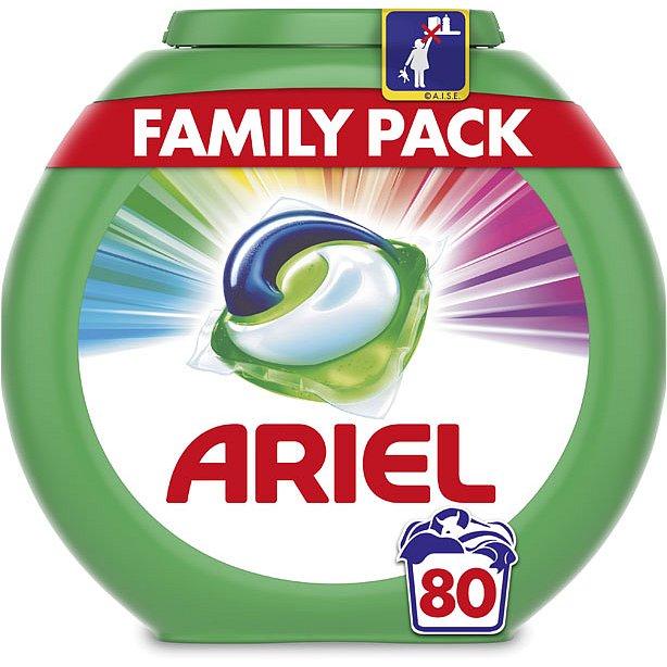 ARIEL Color 80 ks - tablety na praní - Ariel 3v1 Color gelové kapsle 80 ks
