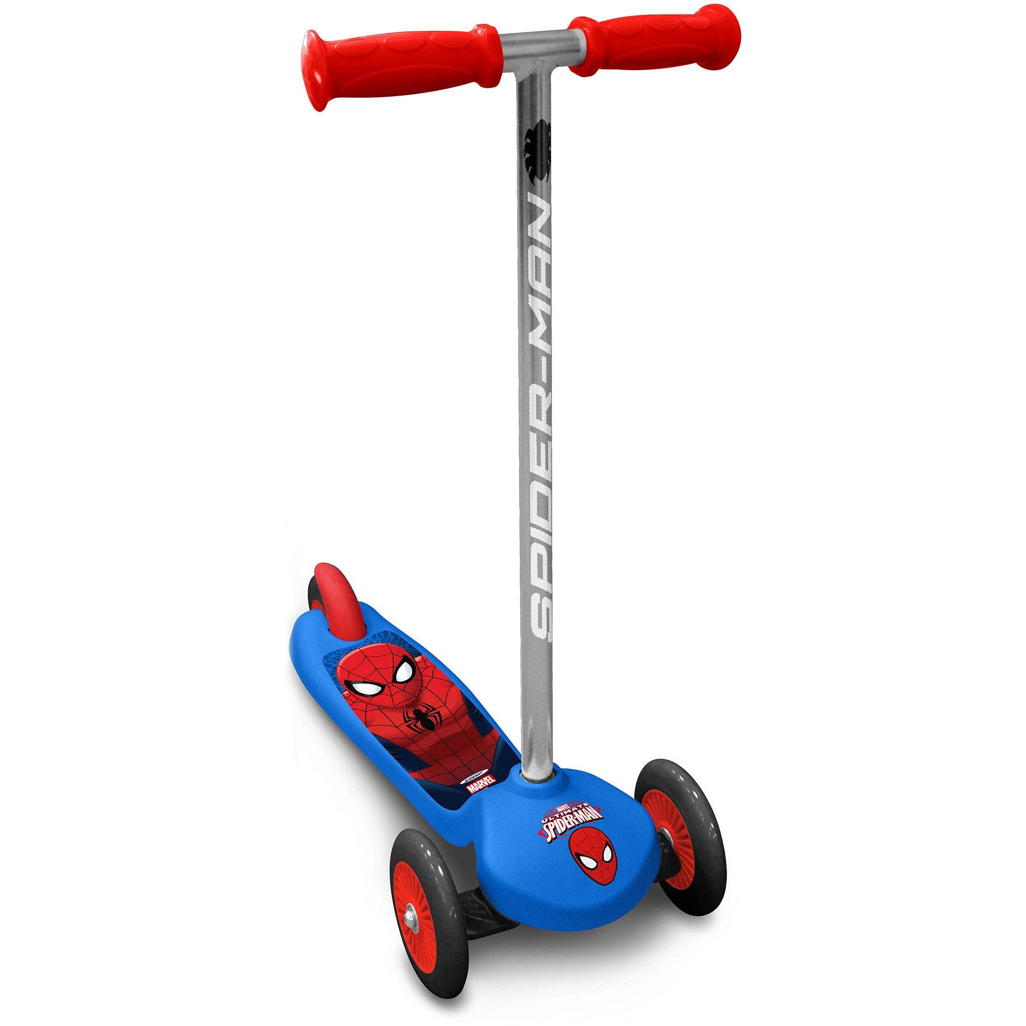 BUDDY TOYS BPC 4121 Koloběžka Spiderman naklápěcí