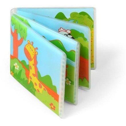 Mini knížka do vody, pískací - Divoké zvířátka