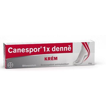 Canespor 1 x denně krém dermální krém 1 x 15 gm 1 %