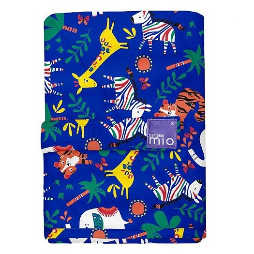 Bambino Mio přebalovací podložka 60x43 Safari Celebration Blue
