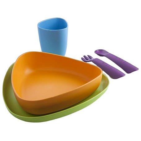 eKeat BIO plast jídelní sada uni