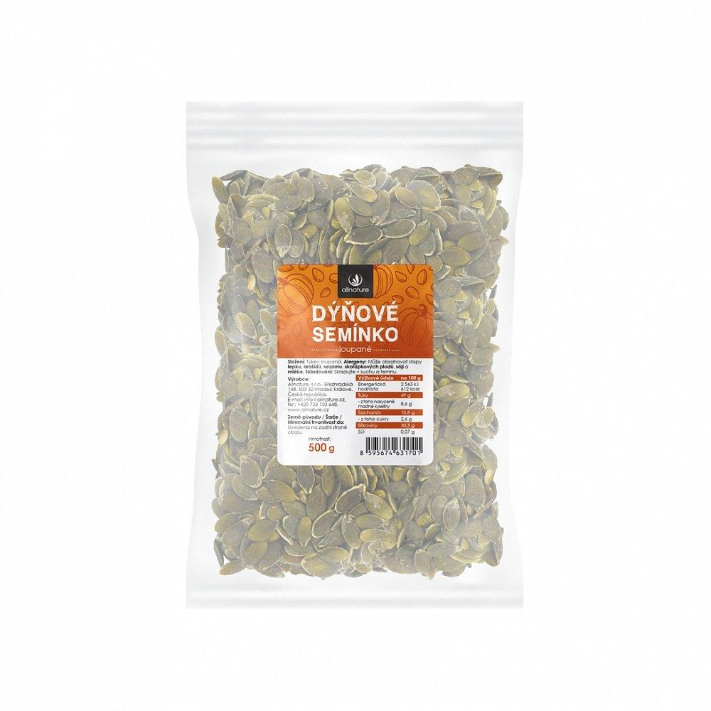 ALLNATURE Dýňové semínko loupané 500 g