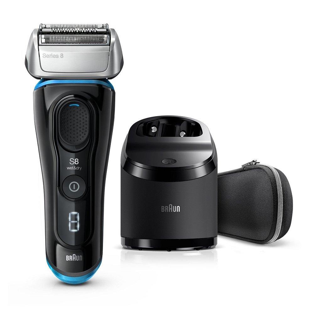 BRAUN Series 8 8385cc Elektrický holící strojek Černý