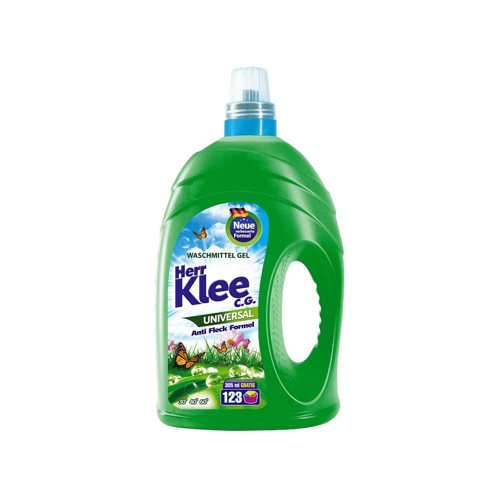 Herr Klee Universal prací gel, 123 praní 4305 ml