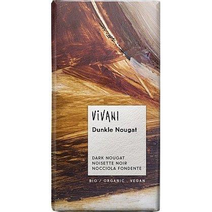 Hořká čokoláda nugátová VIVANI 100g - BIO