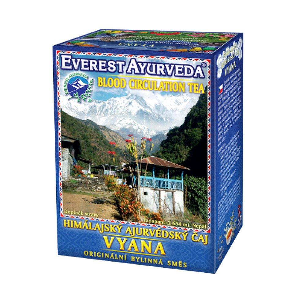 EVEREST-AYURVEDA VYANA Podpora periferní cirkulace 100 g sypaného čaje