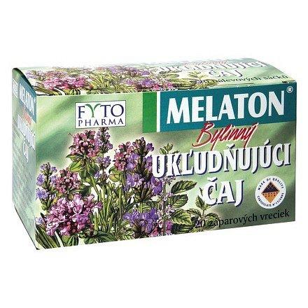 MELATON® bylinný uklidňující čaj 20x1,5g