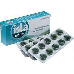Isla-Mint tablety 30 bylinné pastilky