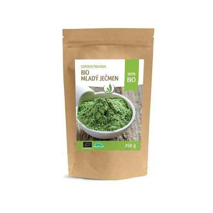 Zelený ječmen prášek BIO Allnature 250 g