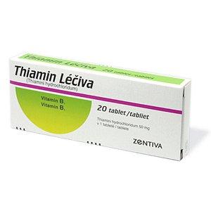 Thiamin Léčiva tablety 20 x 50 mg(blistr)