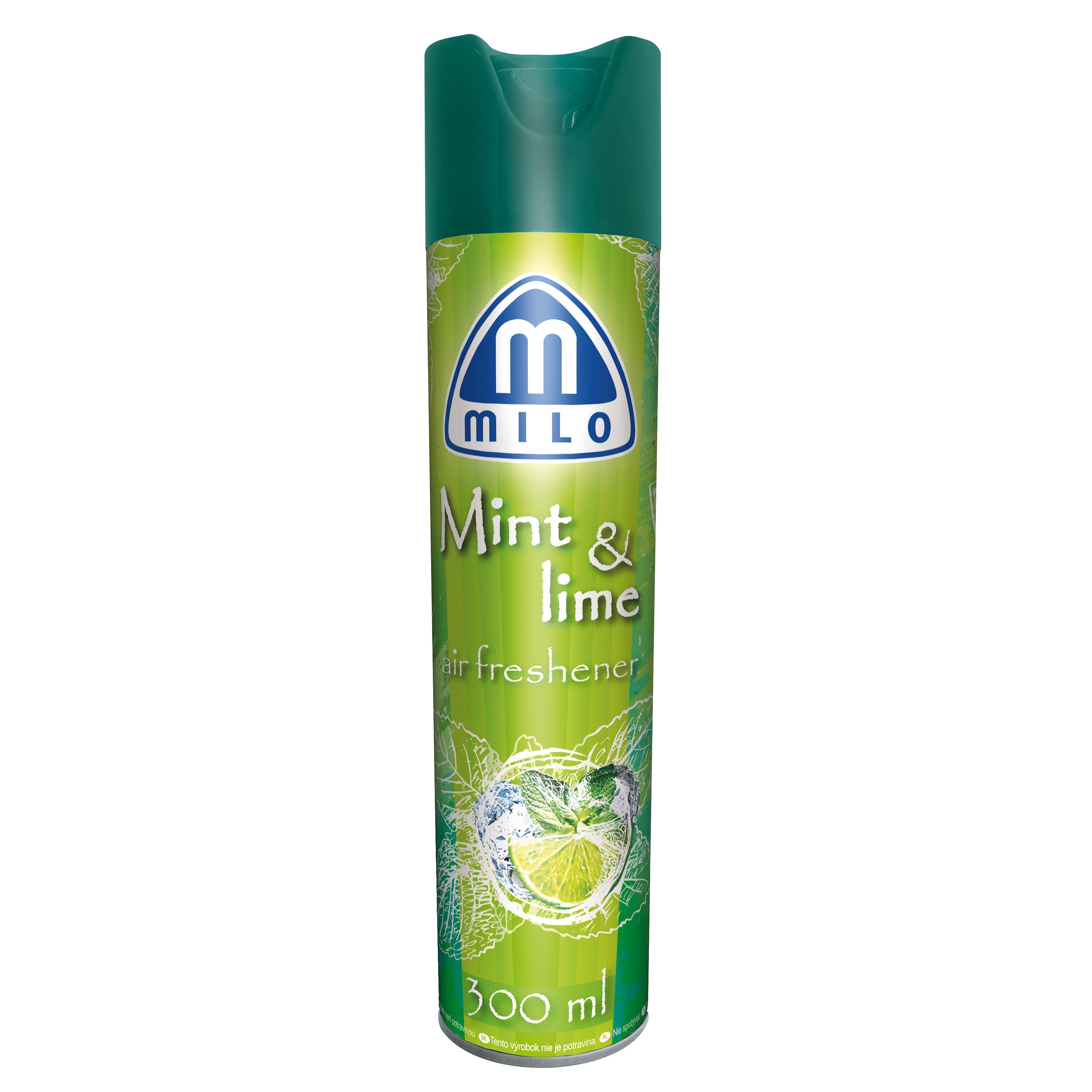 MILO Mint and lime osvěžovač vzduchu 300 ml