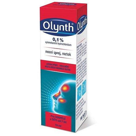 Olynth 0.1 % nosní sprej 10ml