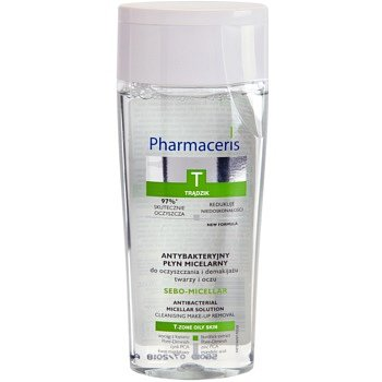 Pharmaceris T-Zone Oily Skin Sebo-Micellar micelární čisticí voda pro problematickou pleť, akné 200 ml