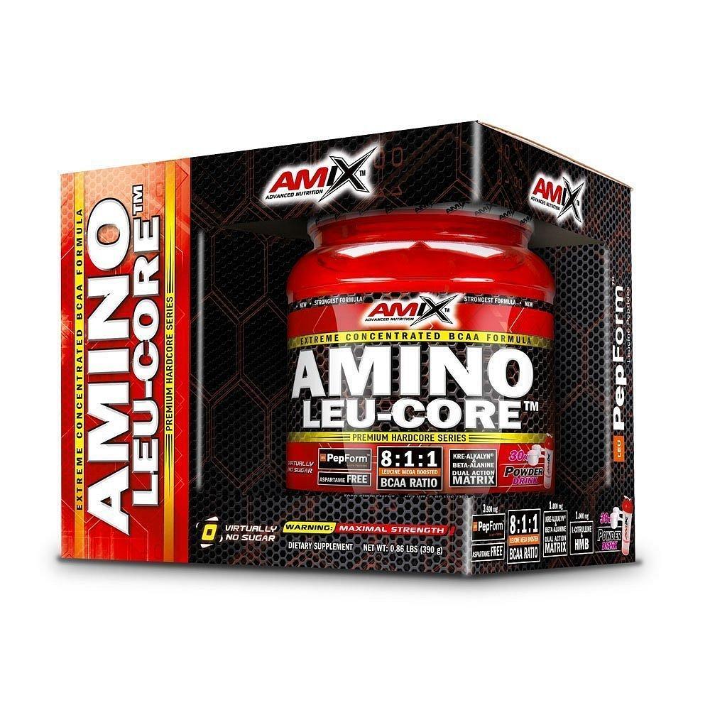 Amix Amino LEU-CORE 8:1:1 Fruit Punch, 390g