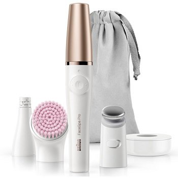 Braun FaceSpa Pro 912 systém 3 v 1 pro epilaci obličeje, revitalizaci a tonizaci pleti