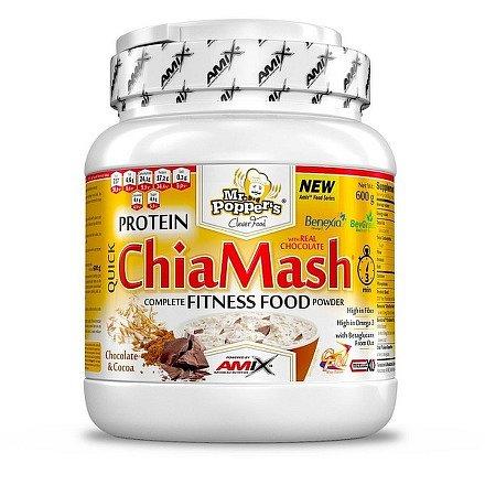 Mr.Popper´s Protein ChiaMash čokoláda 600g
